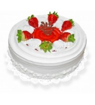 Strawberry Cake with Chantilly